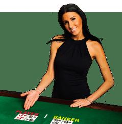 Baccarat im Mybet casino