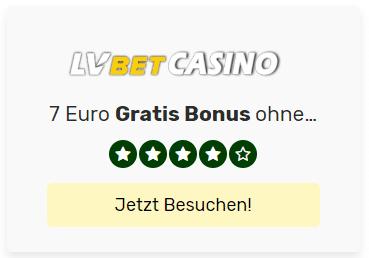 Lvebt 7 Euro gratis plus 1000 Freispiele