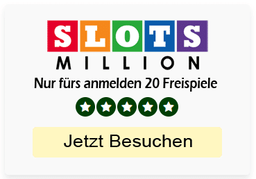 Slots Million Book of Dead Willkommens Bonus