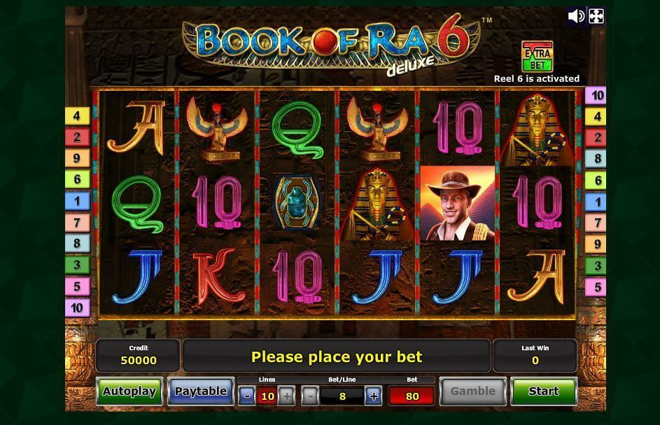 online internet casino book of ra gratis