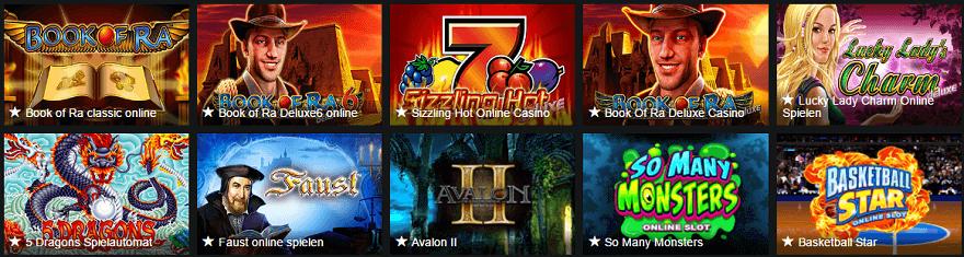 77 Jackpot Casino Spiele