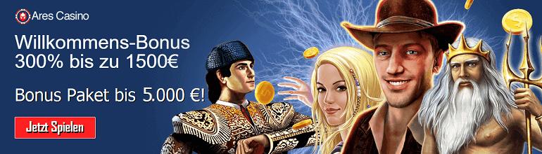 Ares Casino Bonus Novoline