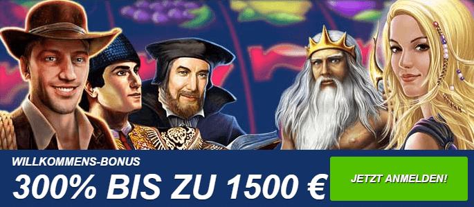 Ares Casino Willkommens Paket