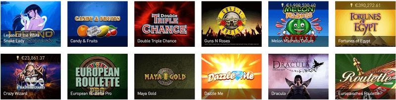 Casinoclub Merkur Spiele und Roulette Bonus