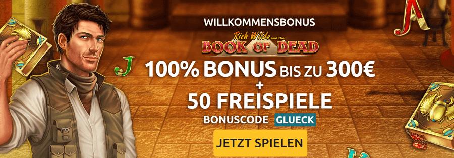 DrückGlück Bonus und Freispiele