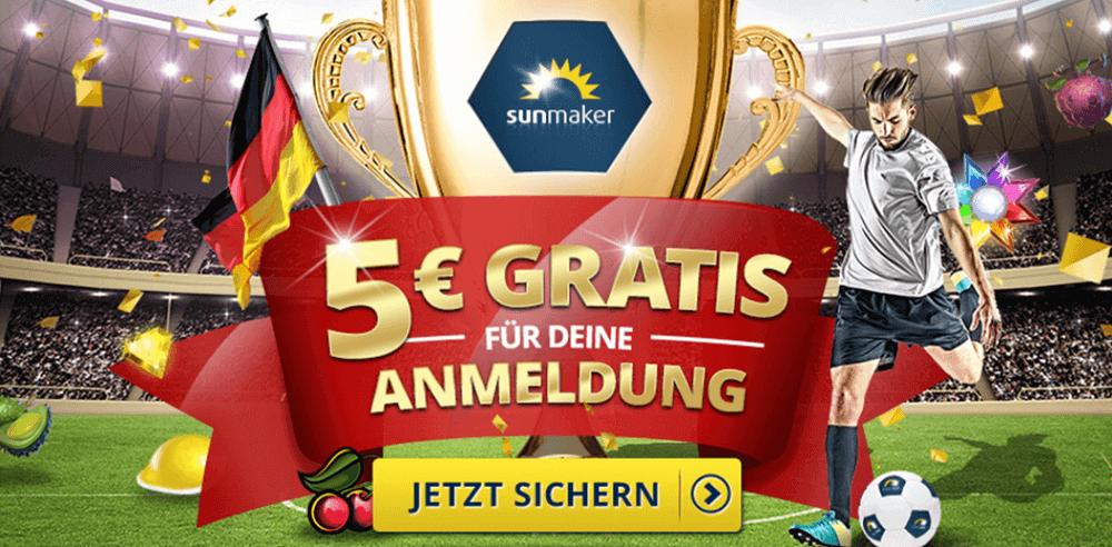 Sunmaker Gratis Bonus WM 2018