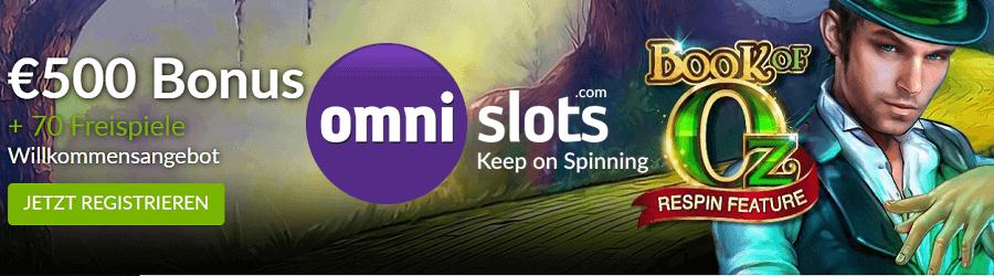 Omni Slots Microgaming Bonus und Freispiele