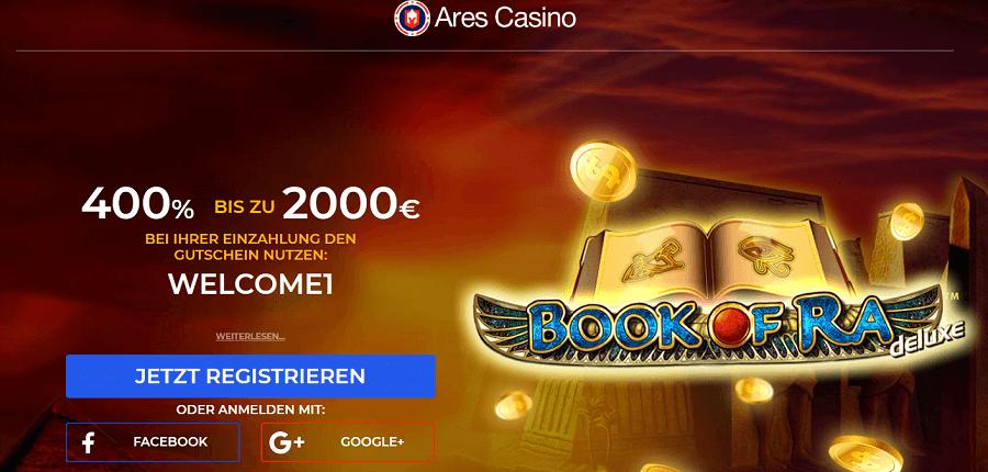 Ares Casino Novoline Bonus für Deutschland