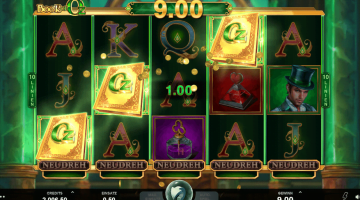 Microgaming Book of Oz gratis Spielen