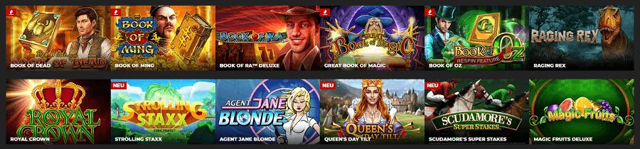 Spielotheken Slots im Energy Casino