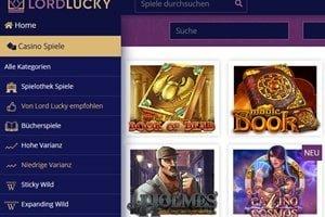 Der 5€ Casino Bonus ohne Einzahlung bei LordLucky