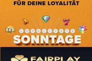 Treue wird fair belohnt im Fairplay Casino