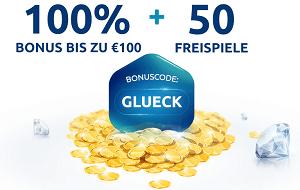 Stakelogic Spiele DrückGlück Bonus 50 Freispiele