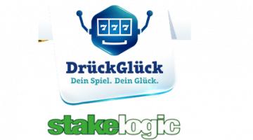 DrückGlück Casino erweitert Spielautomaten mit Stakelogic