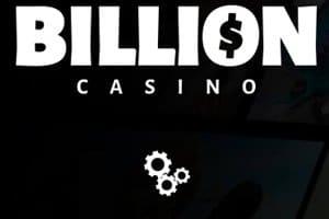 Bonusgeld und Freispiele im Billion Casino bekommen