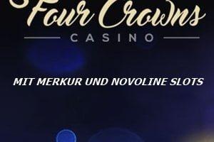 Merkur und Novoline machen das 4 Crowns Casino einzigartig