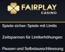 Aufregendes und kontrolliertes Spielen bei Fairplay
