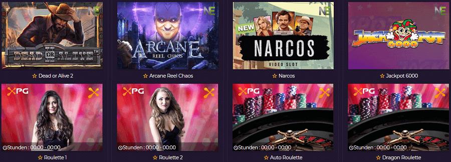 Roulette und Spielautomaten Betzest Casino