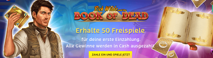 Book of Dead Freispiel PlayOJO Casino