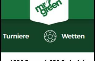 Die Mr Green Bonus Lounge mit Freispielen nutzen