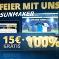 Das 15€ gratis Angebot im Sunmaker Casino