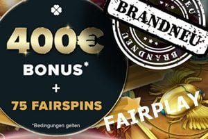 Verbesserter Willkommensbonus im Fairplay Casino