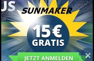 Vorweihnachtsverlosung im Sunmaker online Casino