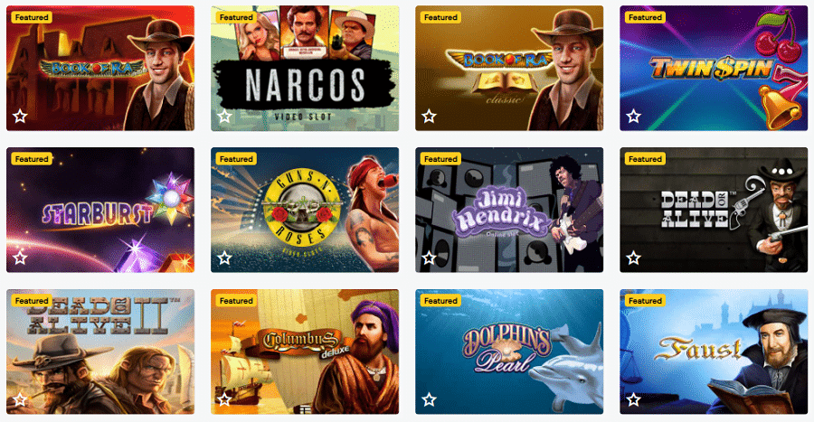 luckywins Spielautomaten Casino